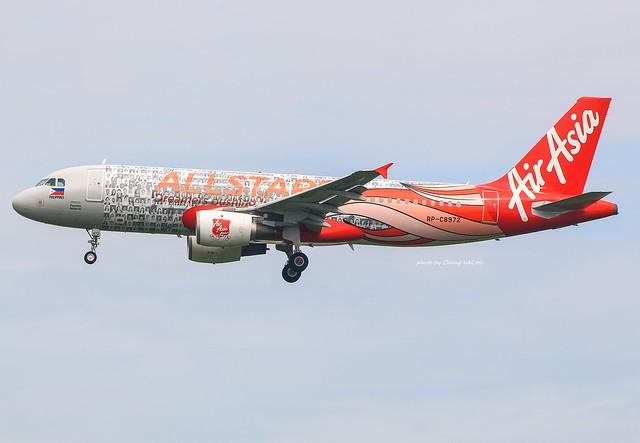 Philippine AirAsia Airbus A320-216 RP-C8972