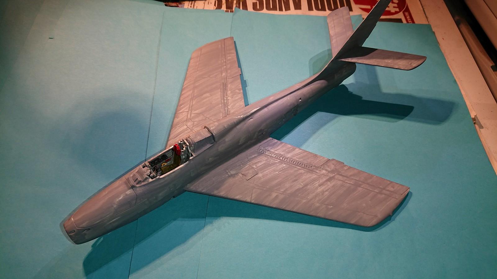 Bundesluftwaffe F-84F JaboG 33 - Revell 1/48 - Sida 4 44382541402_0f7ad074c6_h