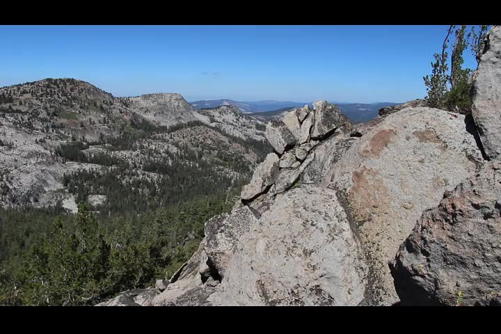 1518 Panorama video looking west from the summit of Jakes Peak