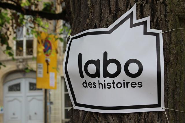 Labo des histoires - Le Livre sur la Place 2018 à Nancy