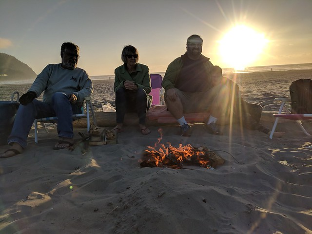 Seaside 2018: Beach Fire