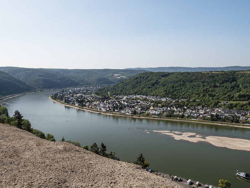 View from Marksburg Castle 3
