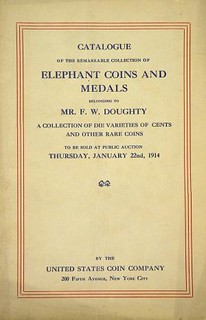 Doughty Elephant Coin Sale cover