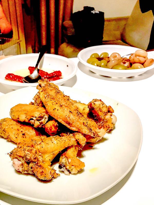 Griglia del pollo