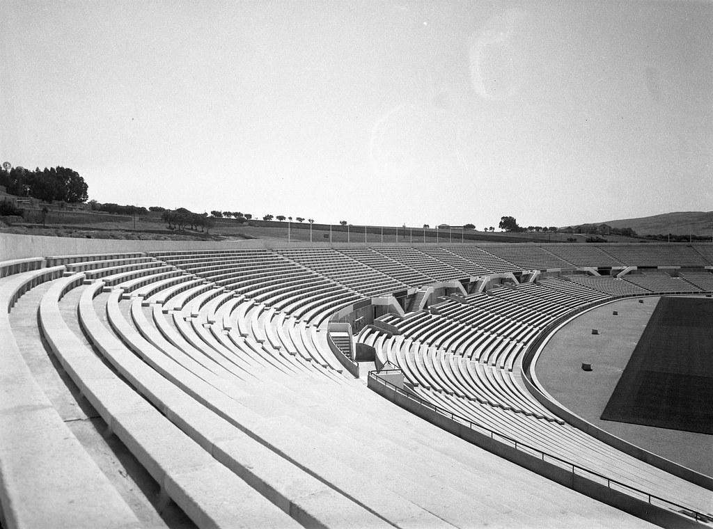 Estádio da Luz, Quinta de Montalegre (M. Oliveira, 1955)