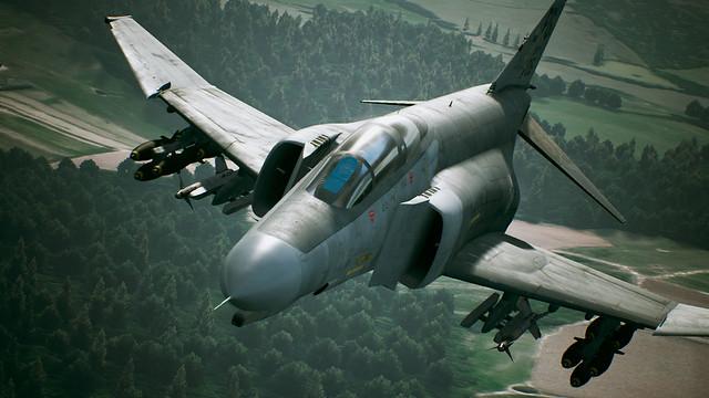 エースコンバット7 プレイアブル機体「F-4E PhantomII」