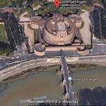 1930 2018 Castel Sant'Angelo b, foto d e Alvariis By Google Maps - https://www.flickr.com/people/35155107@N08/