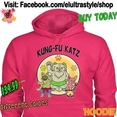 Kung Fu Cats Hoodie