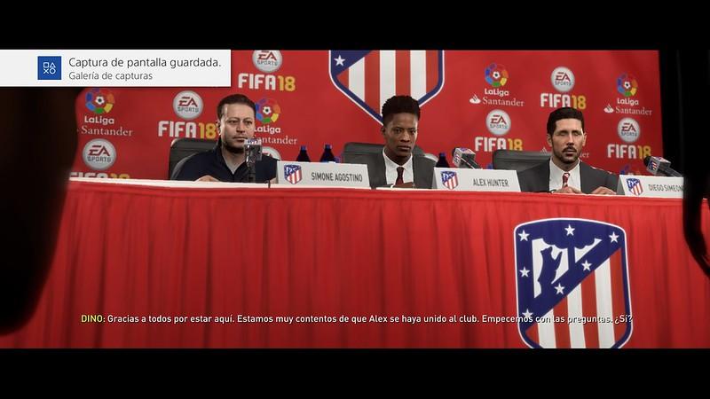 FIFA 18 El Camino (en los menús)_2