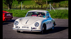 Porsche 356 A - Photo of Courmont