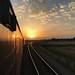 37407 Reedham sunset.