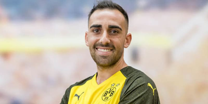 Alcacer bergabung dengan Borussia Dortmund