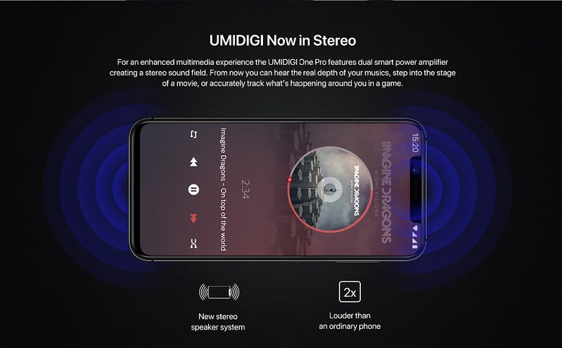 UMIDIGI One Pro スペック (14)