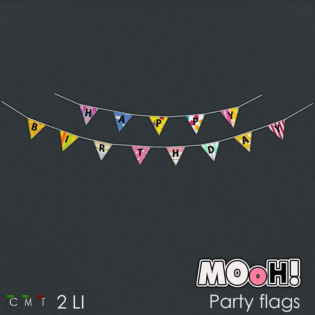 MOoH! Party flags