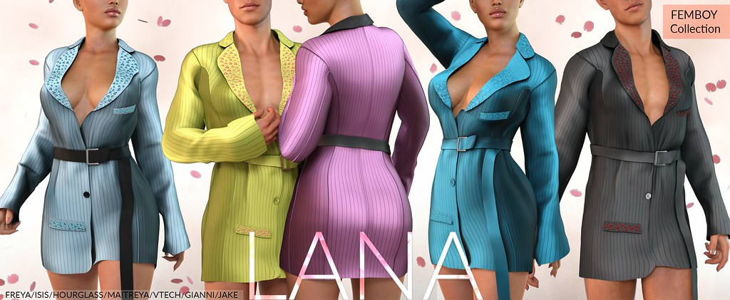 #LANA // The Spencer Suit Dress