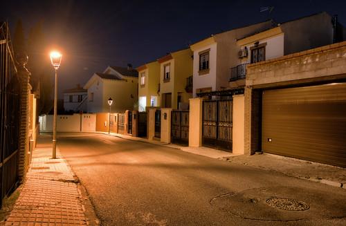 Spanish Suburban Street