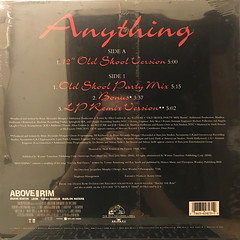 SWV:ANYTHING(JACKET B)