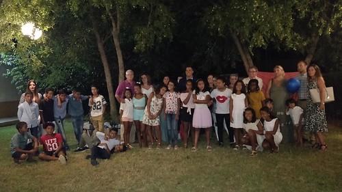 Cena despedida del programa Vacaciones en Paz de niños y niñas saharauis