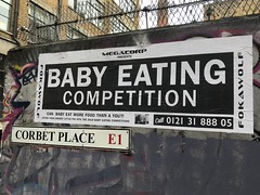 Baby eating competition