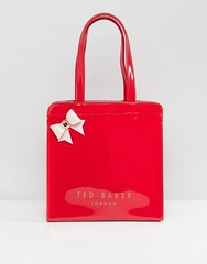 ted-baker-red-Petit-sac-griffe-avec-nud