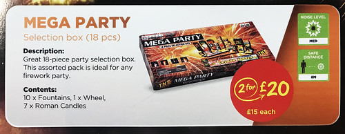 £15 ASDA PRICE - MEGA PARTY SELECTION BOX