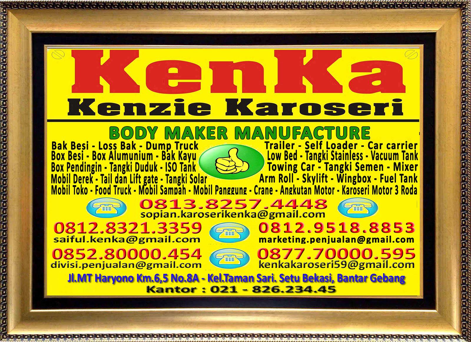 Karoseri Mobil & Truck KenKa - Sopian - Saiful - Susi - Thamrin - Nipo