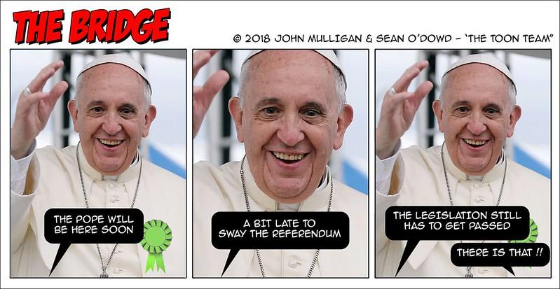 """""""Pope-soon""""realboyle Boyle """"Toon Team"""""""