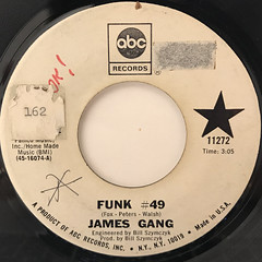 JAMES GANG:FUNK #49(LABEL SIDE-A)