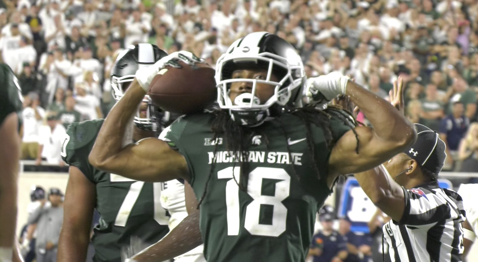Spartans Hold On Against Utah State
