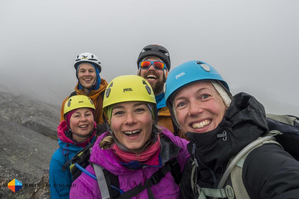Happy climbers!