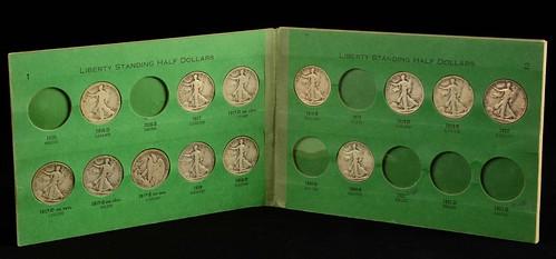 Liberty Standing Half Dollars album