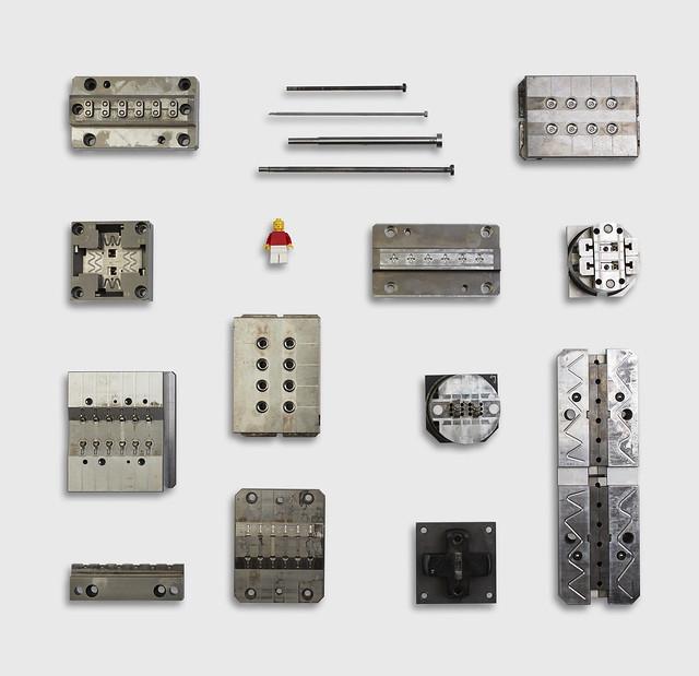 LEGO minifigure moulds - Moules minifig LEGO