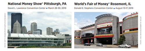 2019 ANA convention venues