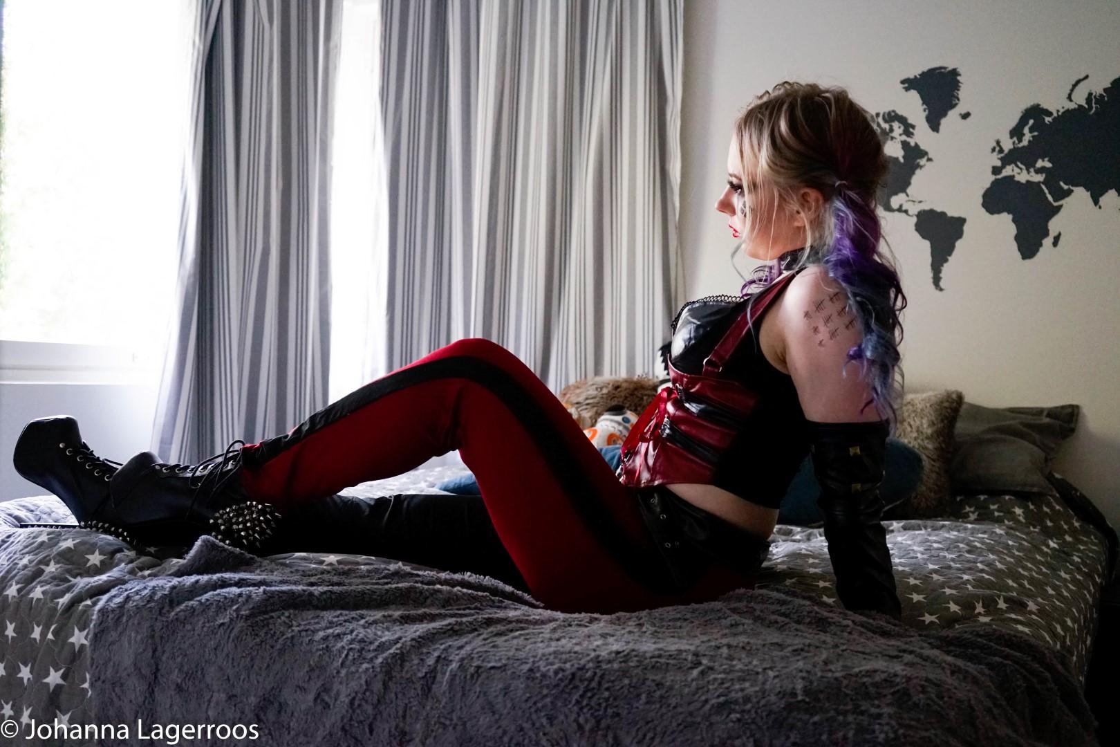 harley quinn halloween cosplay