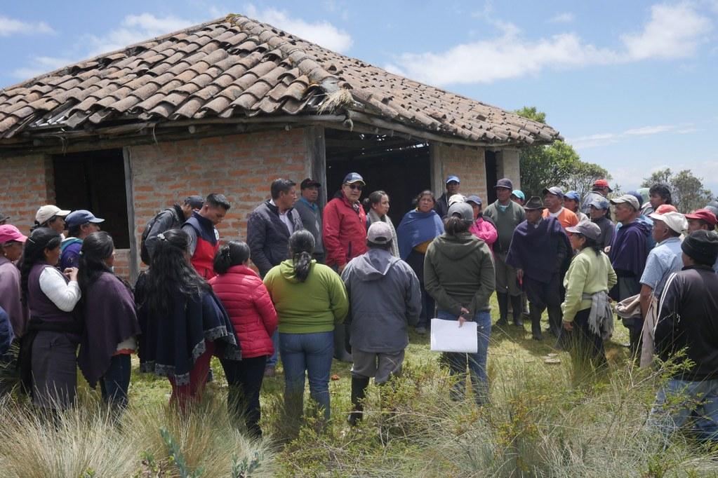 Prefectura del Carchi invertirá 136 mil dólares en riego para Tufiño