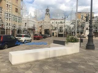 arredi piazza Moro Casamassima
