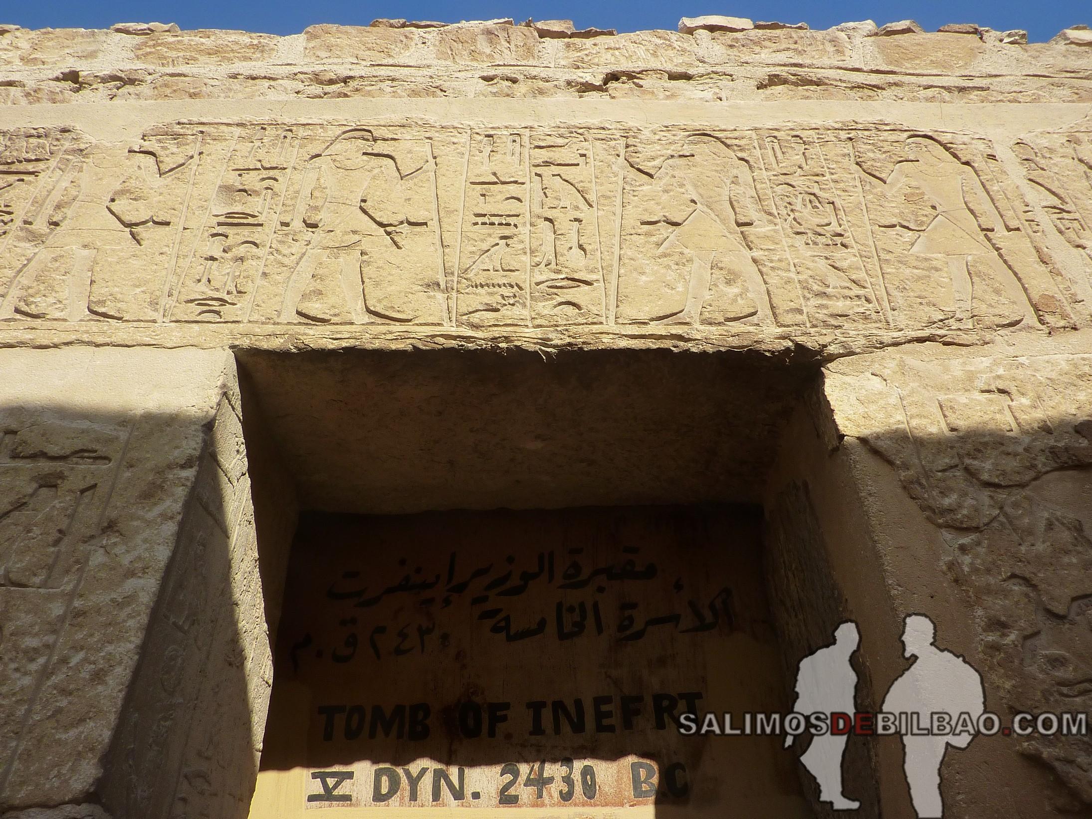 0334. Tumbas en el Complejo de la Pirámide escalonada de Zoser, Saqqara