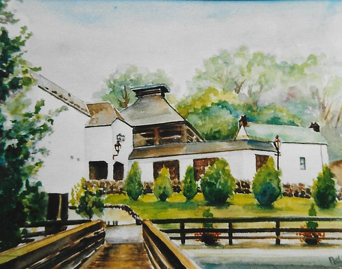 Glenturret painting by Nel Huurman 2001