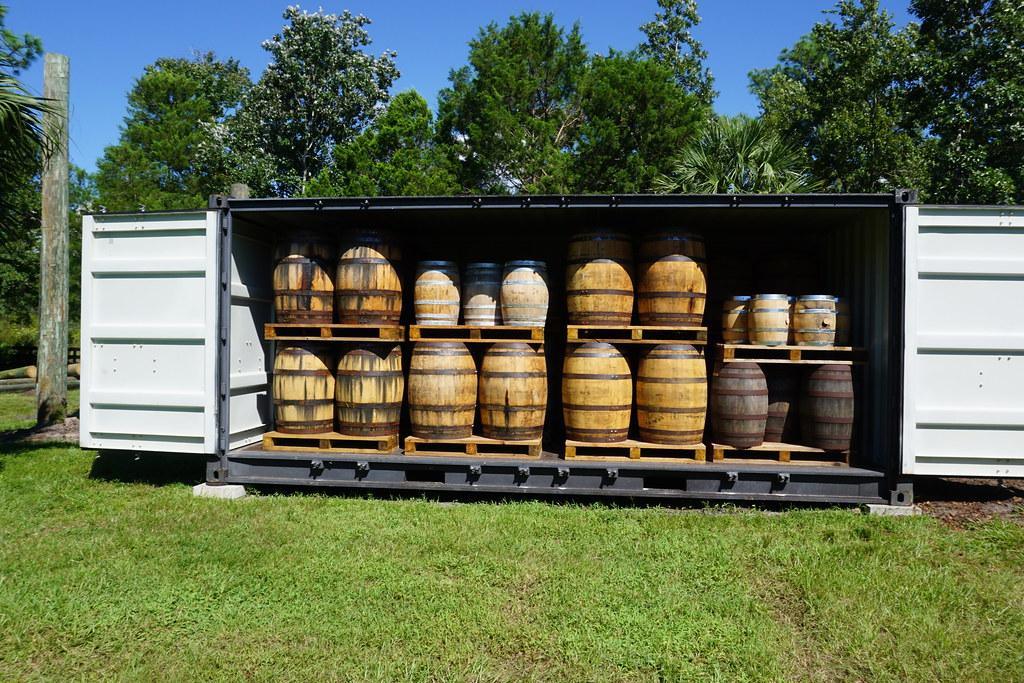 Spirits Aging at NJoy Spirit's Distillery, Brooksville, Fla, Sept. 14, 2018
