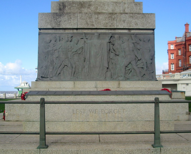 Blackpool War Memorial South Face