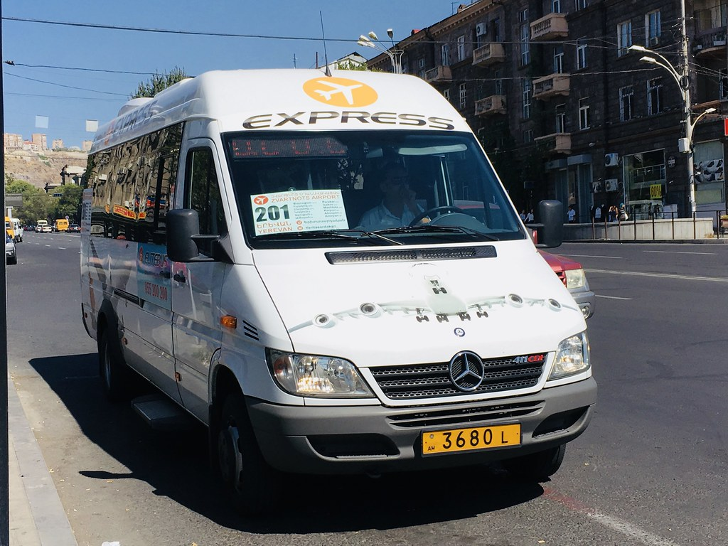 Yerevan Airport Express Bus