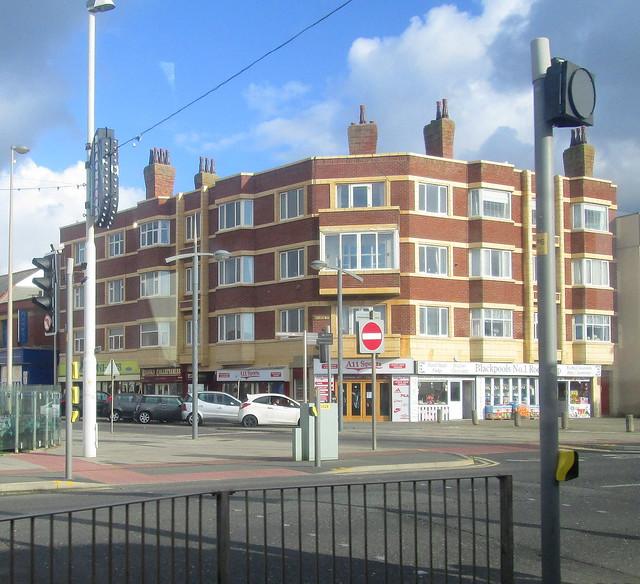 Art Deco Style Flats, Blackpool
