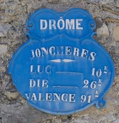 Joncheres, Drome