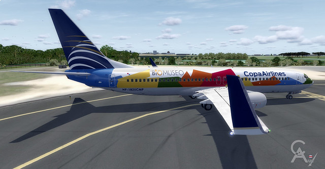 Copa Airlines (HP-1825CMP) v6.2