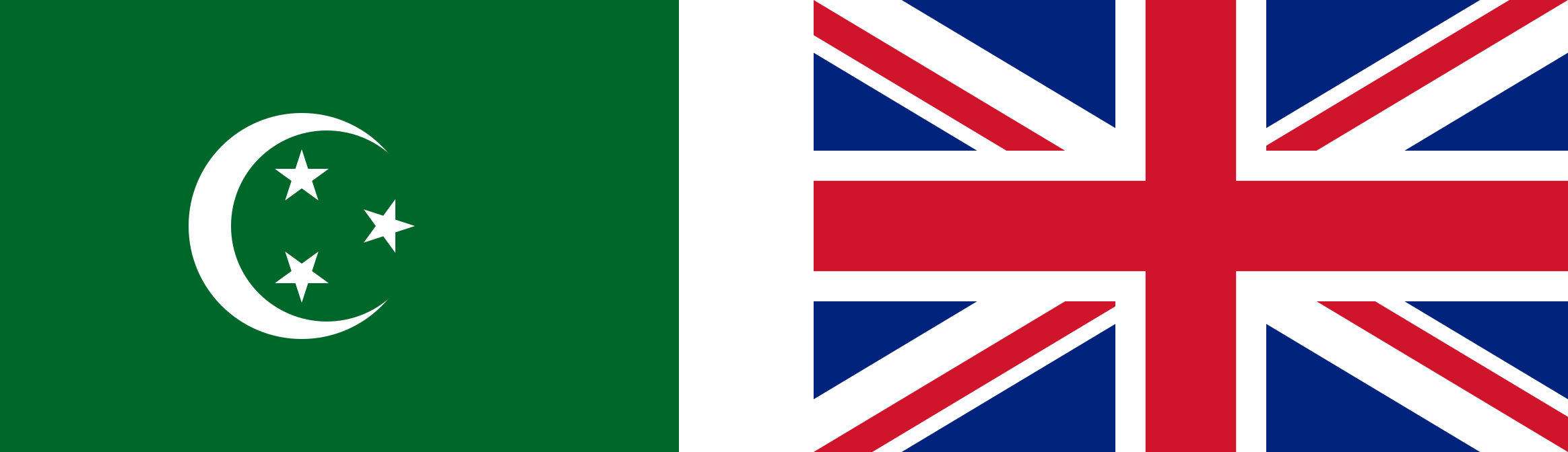 The two flags of the Anglo-Egyptian Sudan