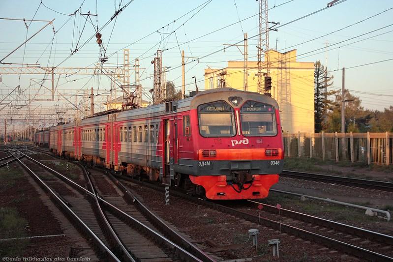Электропоезд ЭД4М-0346.