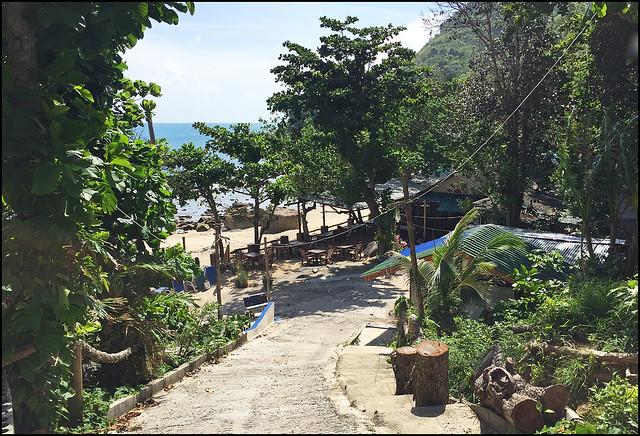 Ao Sane Beach Entrance