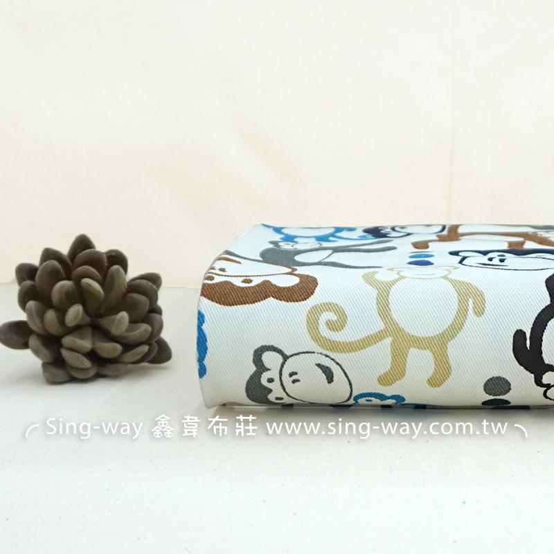 小猴 動物 monkey 長臂猿 大耳猴 手工藝DIY布料 CA790115