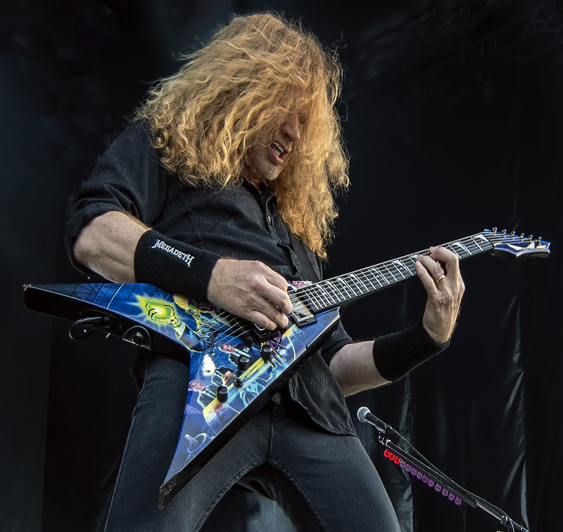 Dave Mustaine of Megadeth @ 2016 Copenhell