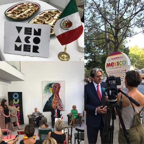 Mexico en el Festival del Boulevard Bartok Bela Eleven Osz